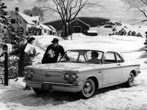 Chevrolet Corvair Deluxe 700 Club Coupe 1961 года