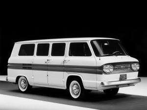 Chevrolet Corvair Greenbrier Sportswagon 1961 года