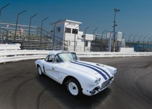 Chevrolet Corvette Fuel-Injected 283 RPO 582-687 Race Car 1961 года