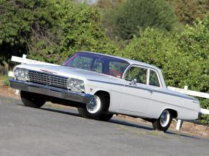 Chevrolet Bel Air 2-Door Sedan 1962 года