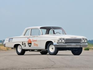 1962 Chevrolet Biscayne 409-409 HP 2-Door Sedan Race Car