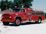 Chevrolet C60 Firetruck by Mid-West 1962 года