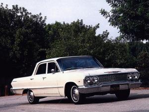 1963 Chevrolet Bel Air 4-Door Sedan