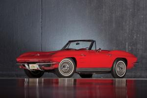 Chevrolet Corvette Pilot Line Stingray Roadster 1963 года