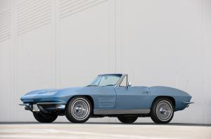 Chevrolet Corvette Stingray 327 L76 Convertible 1963 года