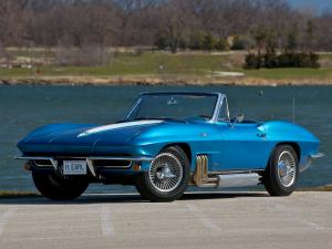 Chevrolet Corvette Stingray Convertible Show Car 1963 года