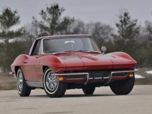 1963 Chevrolet Corvette Stingray L84 327/360 HP Fuel Injection Convertible