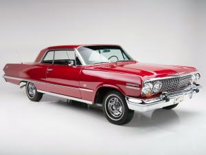 1963 Chevrolet Impala SS 327/300 HP Sport Coupe