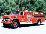 Chevrolet C80 Firetruck by Seagrave 1965 года