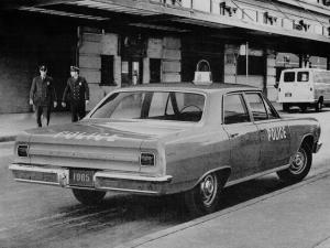 Chevrolet Chevelle Police Car 1965 года