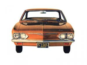 1965 Chevrolet Corvair Monza Hardtop Coupe