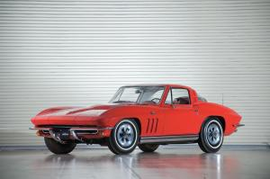 Chevrolet Corvette 396/425 Coupe 1965 года