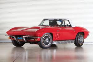 Chevrolet Corvette 396/425 Roadster 1965 года