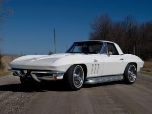 Chevrolet Corvette Stingray L78 396/425 HP Convertible With Side Mount Exhaust Option 1965 года