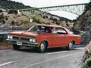 1966 Chevrolet Chevelle SS 396 Hardtop Coupe