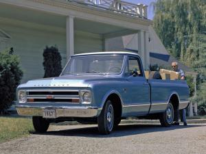 Chevrolet C10 Fleetside Pickup CST Pkg 1967 года