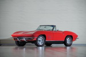 Chevrolet Corvette 327/350 Roadster 1967 года