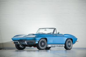 Chevrolet Corvette 427-435 Roadster 1967 года