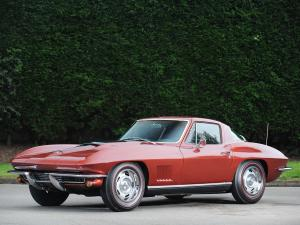 Chevrolet Corvette Stingray L36 427/390 HP 1967 года