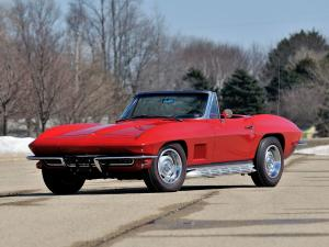 1967 Chevrolet Corvette Stingray L75 327/300 HP Convertible