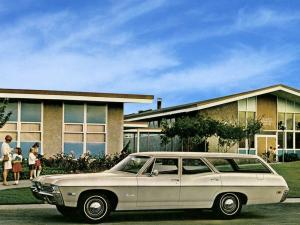 1968 Chevrolet Bel Air Station Wagon