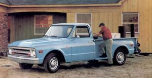 1968 Chevrolet C10 Stepside Pickup