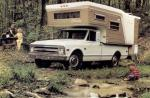 Chevrolet C20 Fleetside Custom Camper Pickup 1968 года