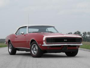 Chevrolet Camaro RS/SS 396 Convertible 1968 года