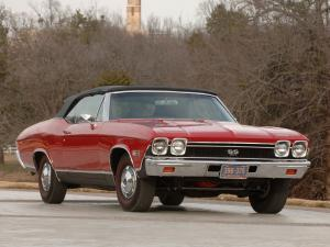 Chevrolet Chevelle SS 396 Convertible 1968 года