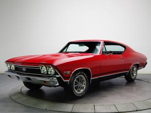 Chevrolet Chevelle SS 396 L35 1968 года