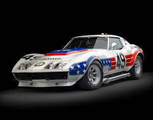Chevrolet BFG Stars & Stripes Factory L88 ZL1 Greenwood Racing Corvette 1969 года