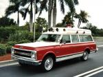 Chevrolet C10 Suburban Ambulance 1969 года