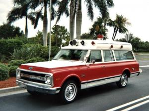 1969 Chevrolet C10 Suburban Ambulance