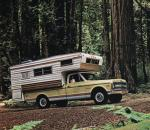 Chevrolet C20 Fleetside Pickup with Open Road Camper 1969 года