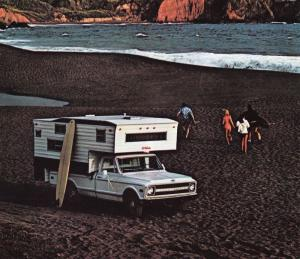 1969 Chevrolet C20 Fleetside Pickup with Ward El Dorado Camper