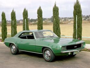 Chevrolet Camaro RS 327 1969 года