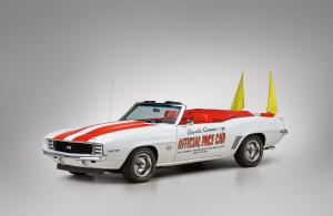 Chevrolet Camaro RS/SS 350 Convertible Indy 500 Pace Car 1969 года