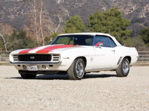 1969 Chevrolet Camaro RS/SS 350 Z11 Convertible Indy 500 Pace Car Replica