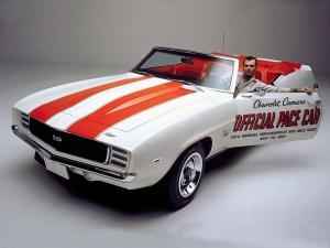Chevrolet Camaro RS/SS Convertible Indy 500 Pace Car 1969 года