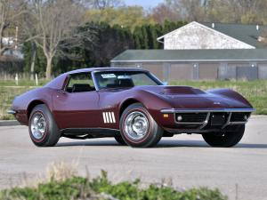 Chevrolet Corvette Stingray L88 427/430 HP Sport Coupe 1969 года