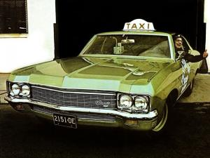 1970 Chevrolet Bel Air Taxi