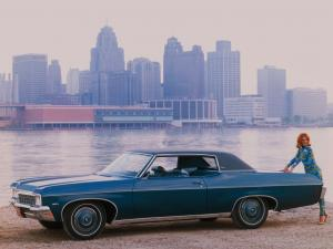 1970 Chevrolet Caprice Custom Coupe