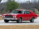 Chevrolet Chevelle SS 396 Hardtop Coupe 1970 года