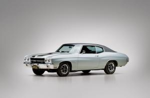 Chevrolet Chevelle SS 396 Sport Coupe 1970 года