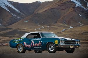 1970 Chevrolet Chevelle SS 454 LS6 Convertible NHRA Super Stock Race Car