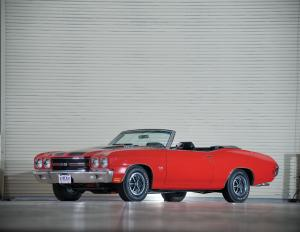 Chevrolet Chevelle SS LS6 Convertible 1970 года