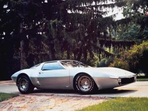Chevrolet Corvette XP-882 Concept Car 1970 года