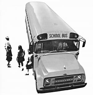 Chevrolet B60 School Bus 1971 года