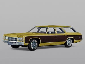 Chevrolet Kingswood Estate Wagon 1971 года
