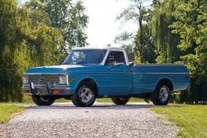 1972 Chevrolet C10 Custom Fleetside Pickup